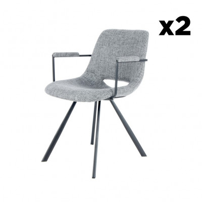 Stuhl Hagga 8.0 2er-Set | Grau