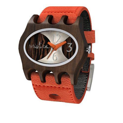Kamera Uhr   Orange