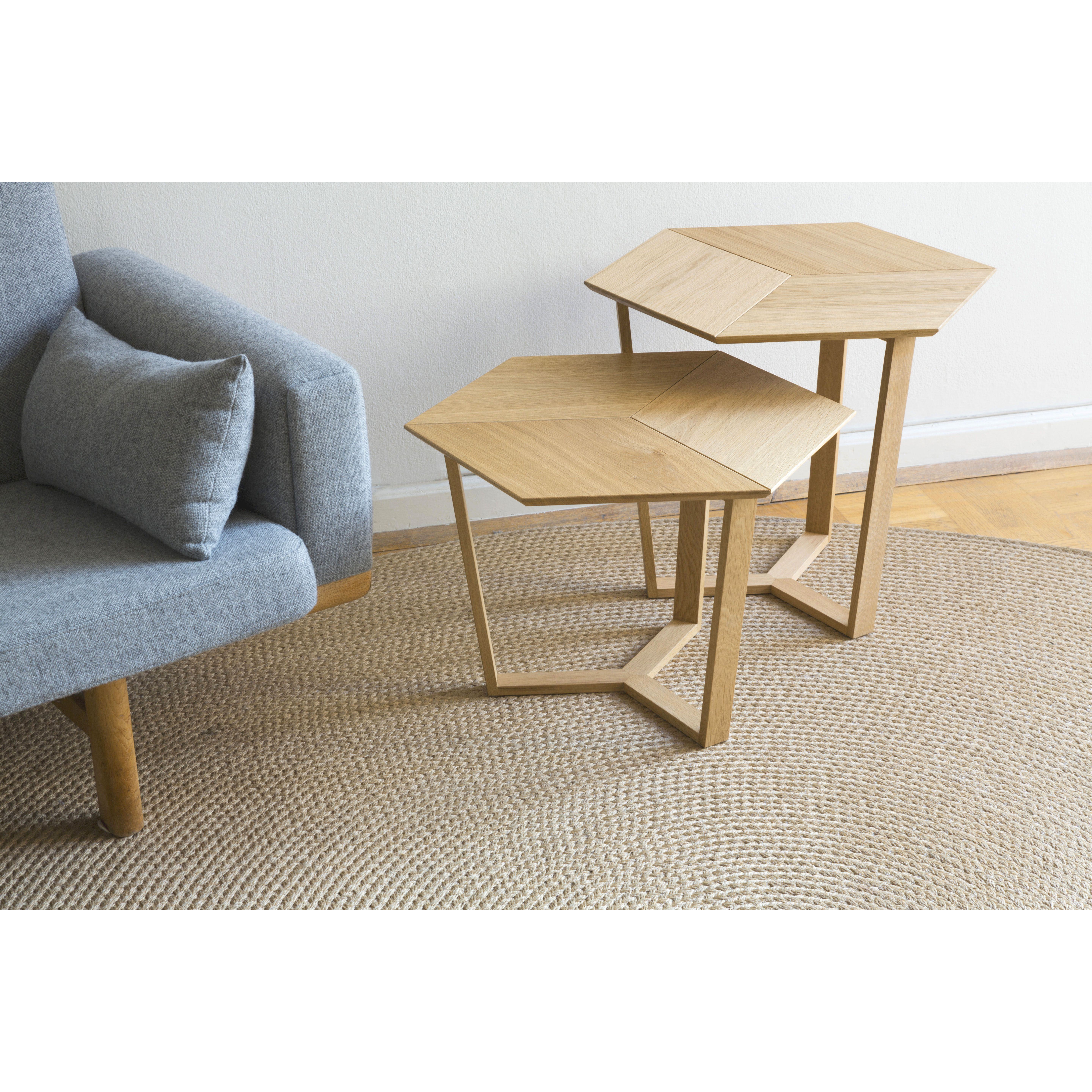 KANT |  Sophisticated Side Table Natural