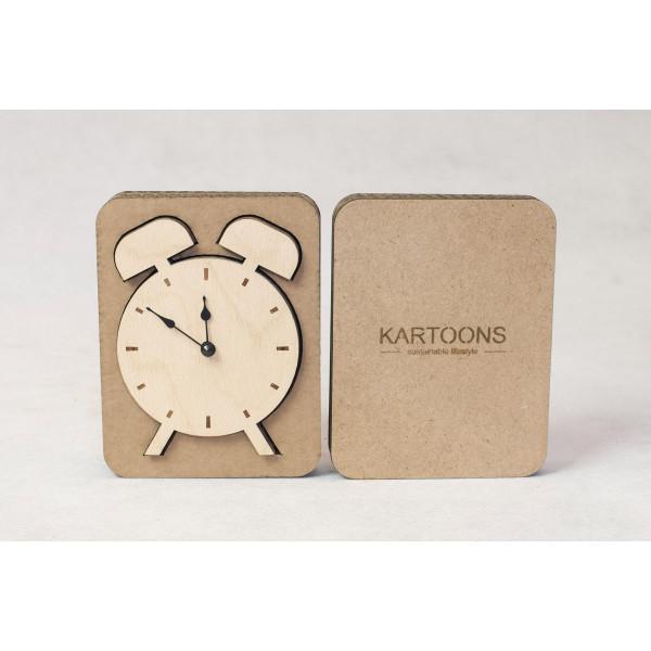 Cardboard Clock   12