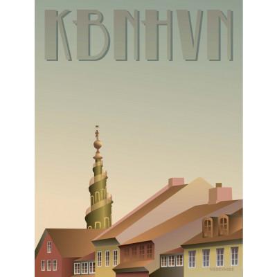 Kopenhagen Poster   Christianshavn