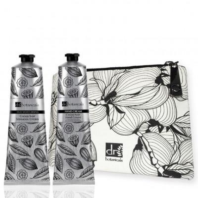 Beauty-Set Cocoa Noir Sensuous | Creme / Handcreme / Beutel für Toilettenartikel