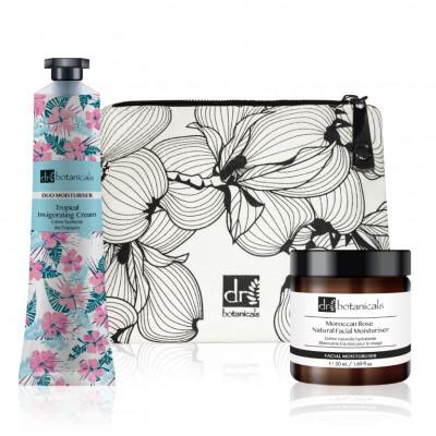 Beauty-Set | Moroccan Rose Natural Facial Moisturiser + Tropical Invigorating Cream