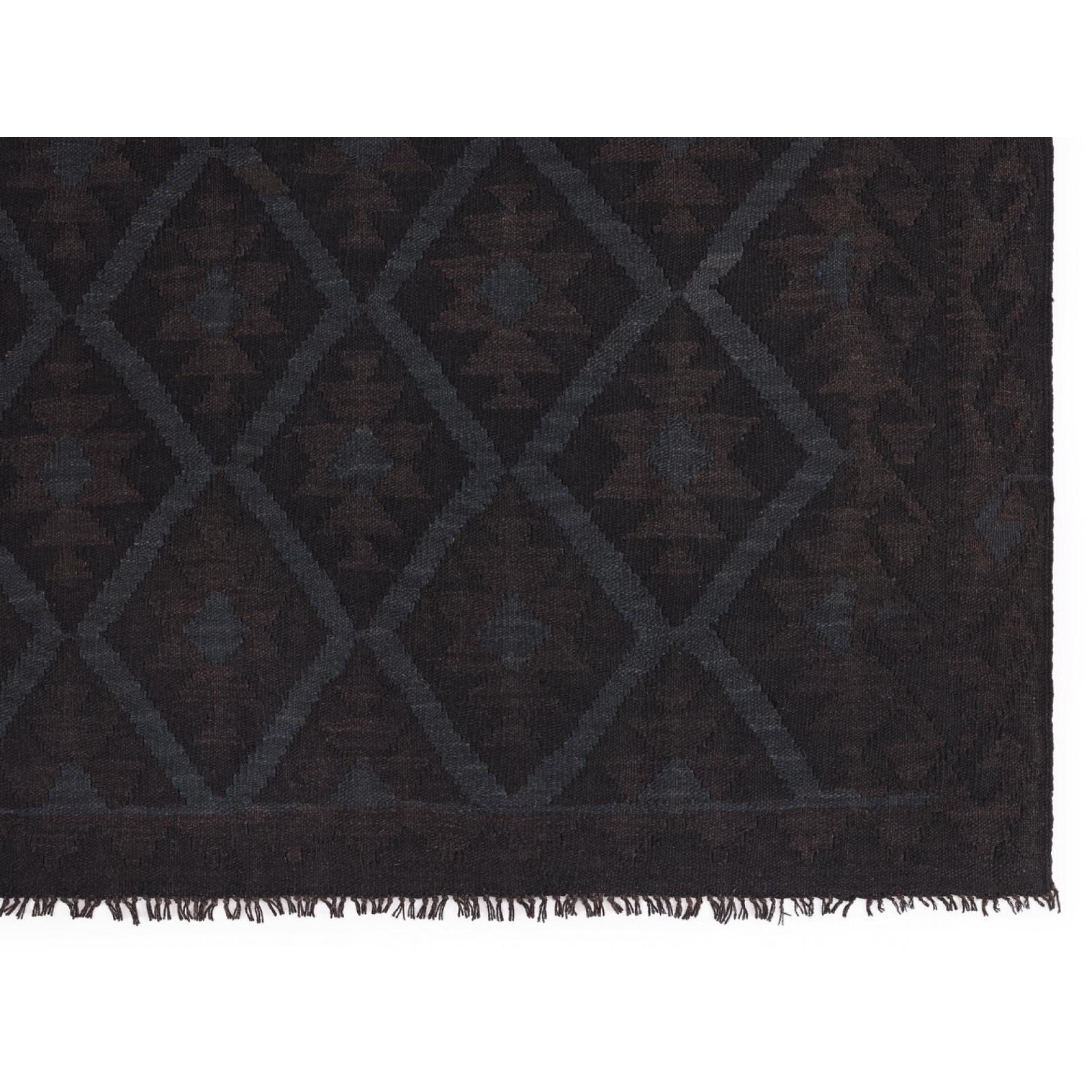Teppich Natural Kelims | Schwarz