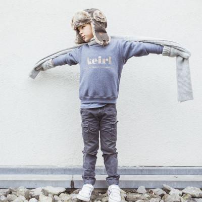 Keirl Sweater   Denin Blue