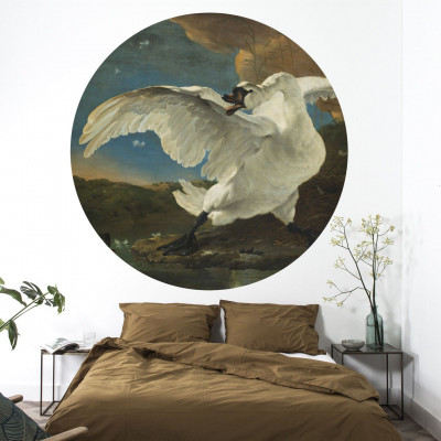 Wall Poster 190 cm Golden Age | Swan