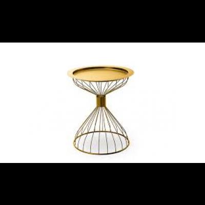 Kelly Tablett-Tisch | Gold