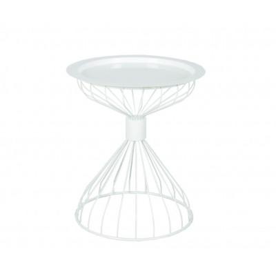 Kelly Tablett-Tisch | Weiß
