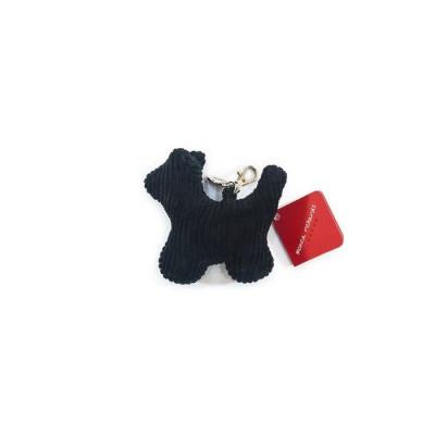 Schlüsselanhänger Max der Hund | Cord | Schwarz