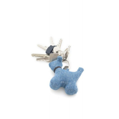 Schlüsselanhänger Max der Hund | Slubby Blau