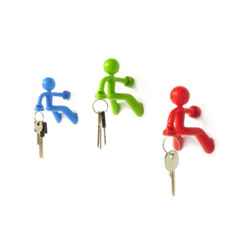 Schlüsselanhänger Pete   Blau