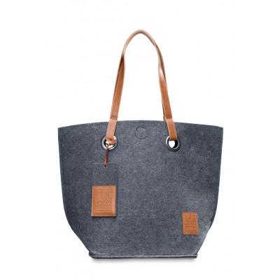 Shoulder Bag Tess | Anthracite