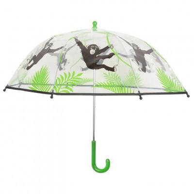 Kinder-Schirm | Affe Transparent