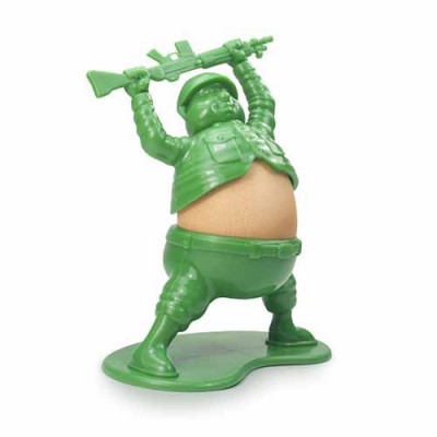 Soldier & Egg Egg Cup | Green
