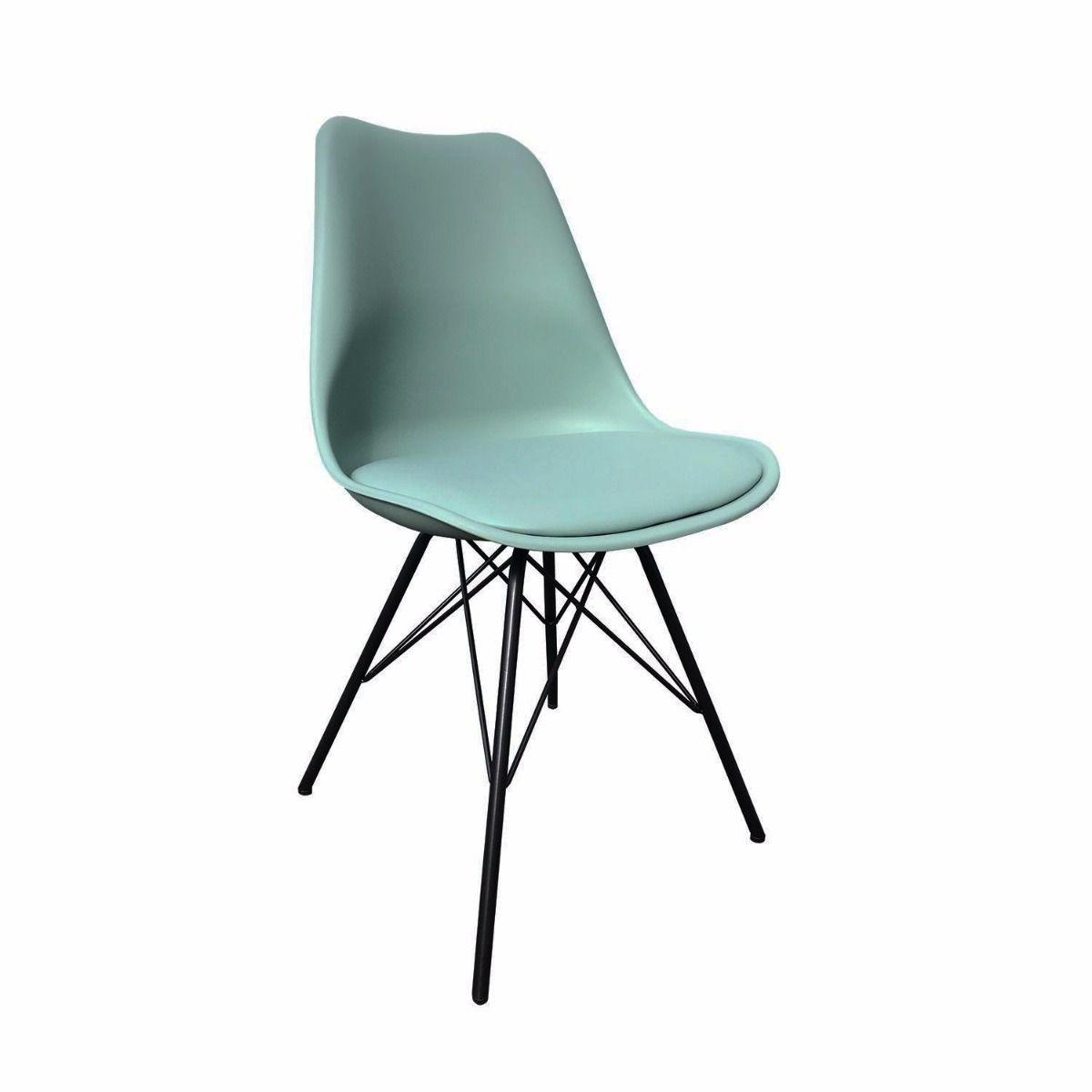 Stuhl Metal Luuk | Minzgrün