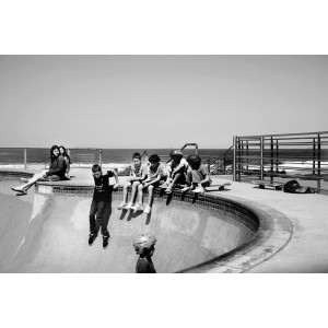 "Kunstfoto ""Kids in Bondi Beach"""