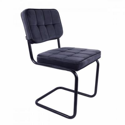Dining Chair Ivy   Dunkelgrau