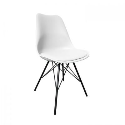 Stuhl Metal Luuk   Weiß
