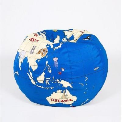Kid's Pouf Kids Globe