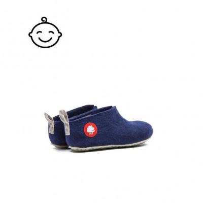 Kids Slippers Gus | Navy Blue