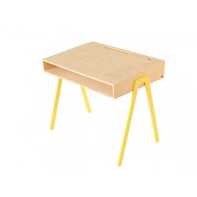 Kids Desk Groß | Gelb