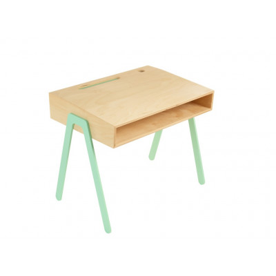 Kids Desk Groß | Minzblau