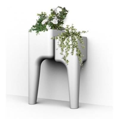 Gemüsegarten-Tisch KIGA | Weiß S