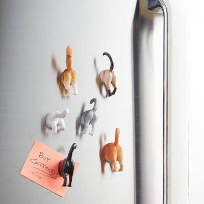 Cat Butt Magnets Set of 6