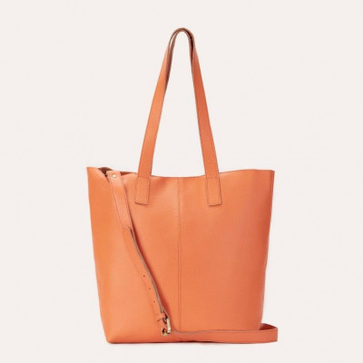 Leather Tote Bag Journalist | Sand