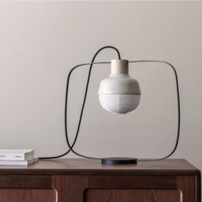 Table Lamp The New Old Light Plump | White