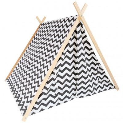 Zigzag Tent   Grey