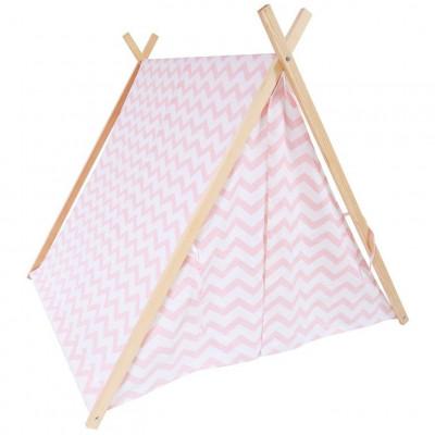 Zigzag Tent   Pink