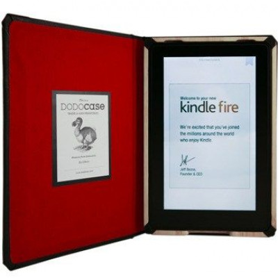 Dodocase Classic Red for Kindle Fire