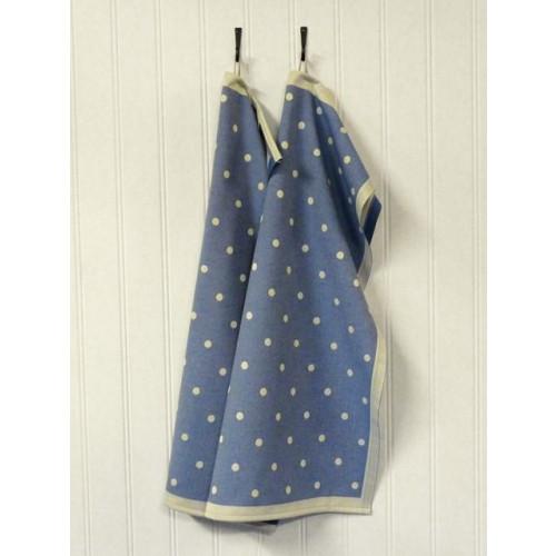 A set of 2 Kitchen Towels Blue