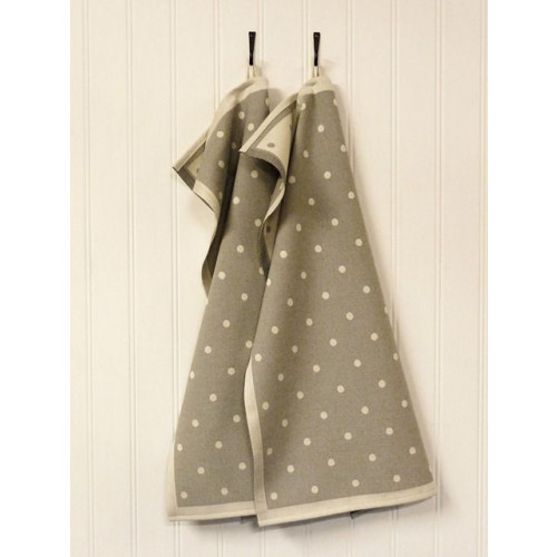 A set of 2 Kitchen Towels Grey
