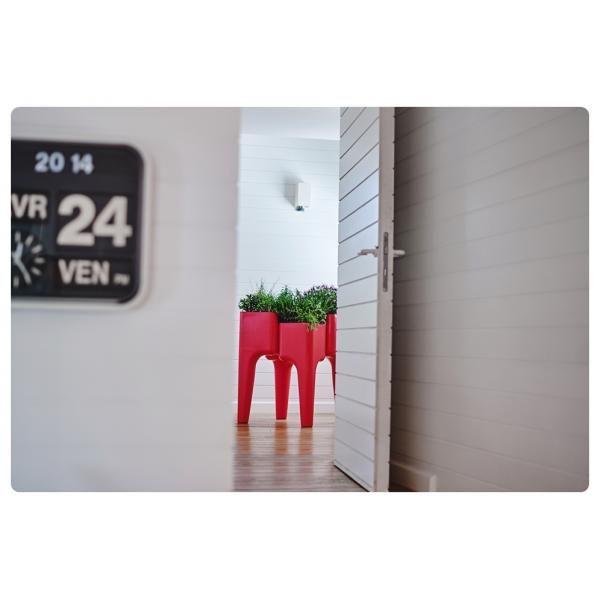 Gemüsegarten-Tisch KIGA   Weiß M