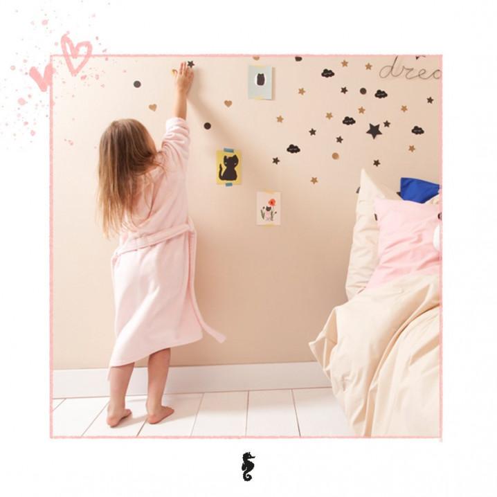 Bathrobe Pure for Kids | Pink