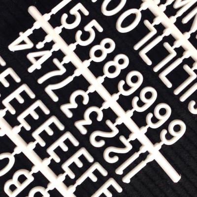 Buchstabenset | 2,5 cm