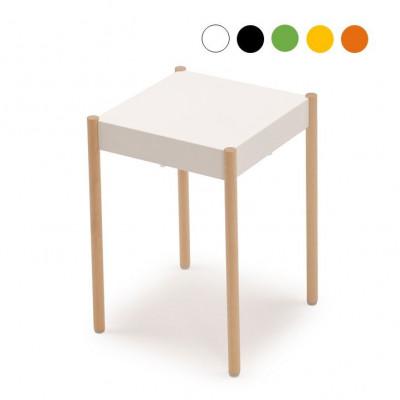 La Table Stapelbarer Hocker B1W