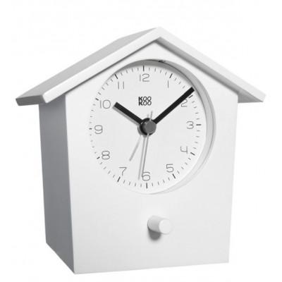 Early Bird Alarm Clock White
