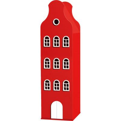 Amsterdam Glocken-Giebelschrank   Feuerwehrauto Rot