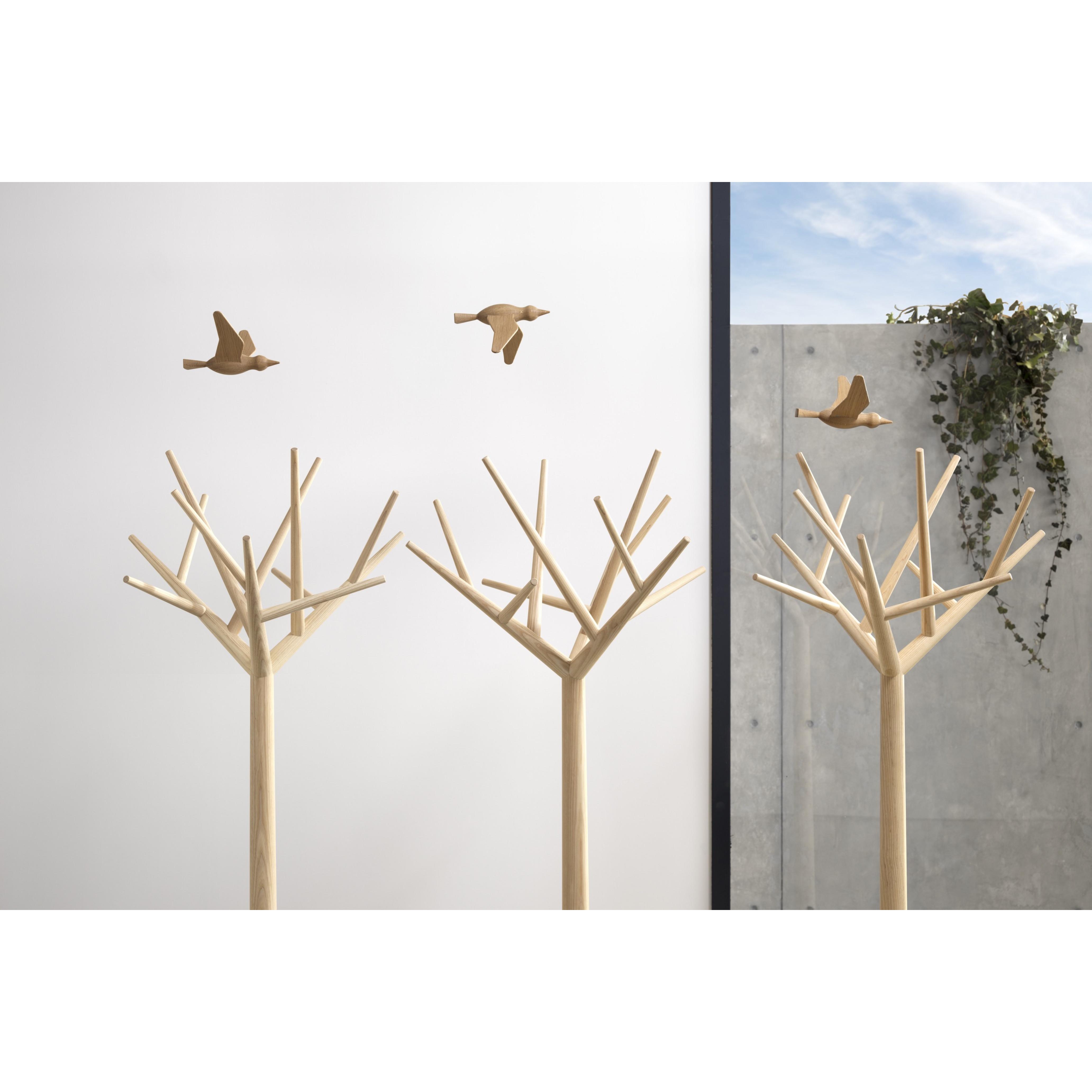 Dekorativer Vogel Jov Flügel unten