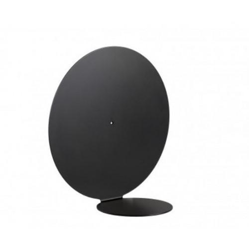 Aureole Shelf Round | Black-Medium