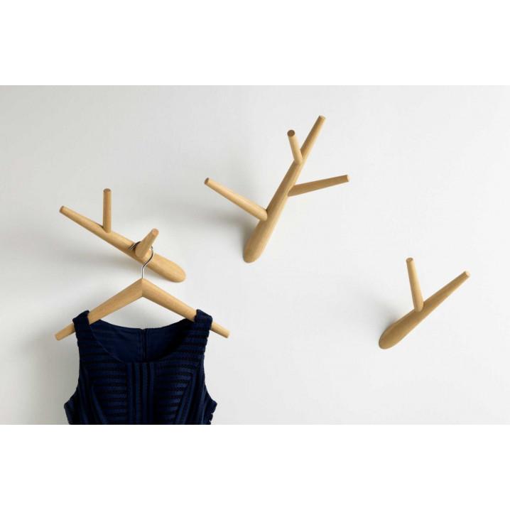 Coat Hooks Ivy Set of 3