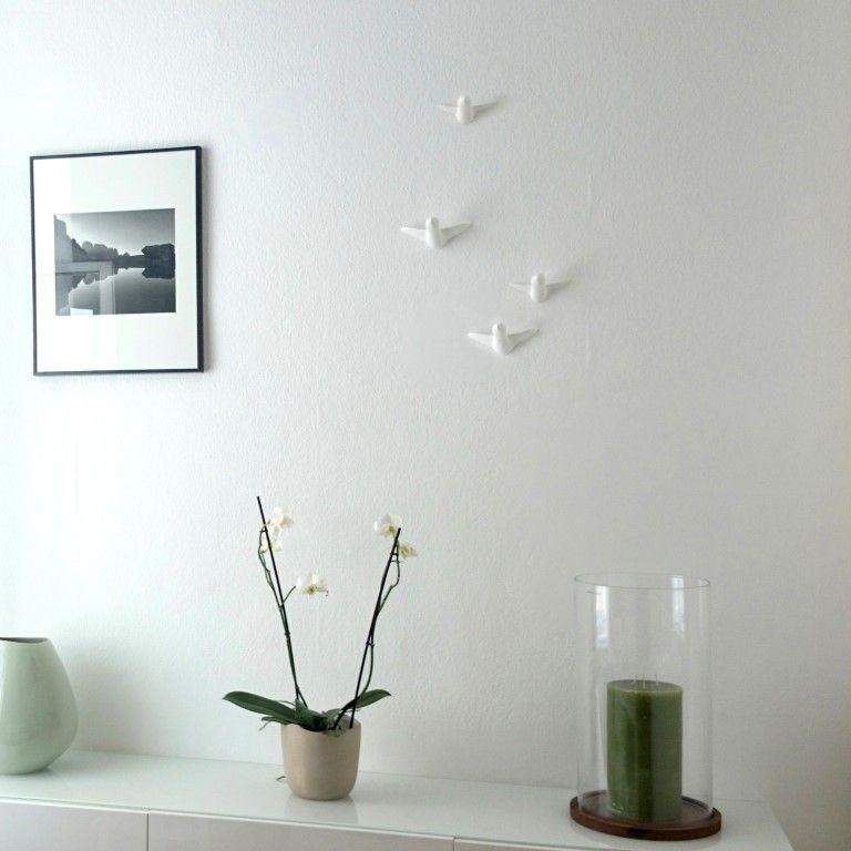 Vogelschwarm Wandhaken   Small.