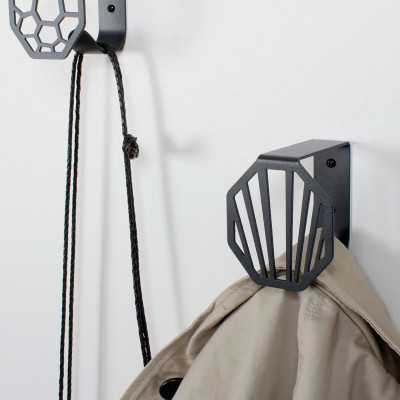 Wall Hook Line | Dark Grey