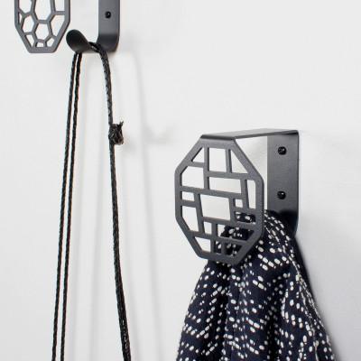 Wall Hook Square | Dark Grey