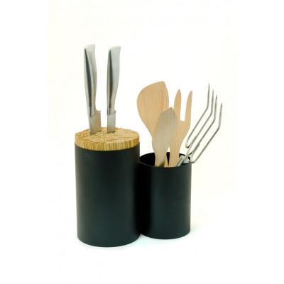 Messer- und Löffelhalter | Schwarz