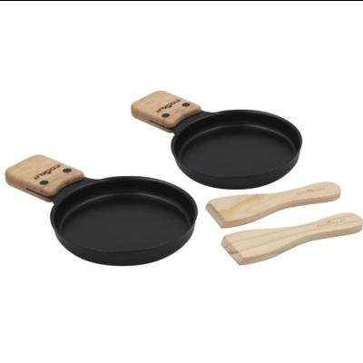Raclettekäse-Pfännchen   2er-Set
