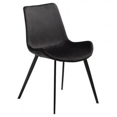 Hype chair, Meteorite black velvet